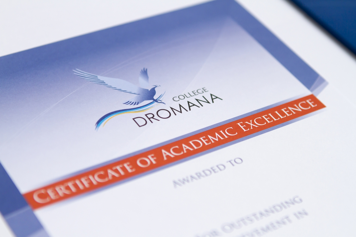 Dromana College Academic Certificates