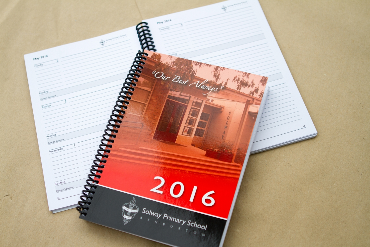 Solway Primary School Annual Diary